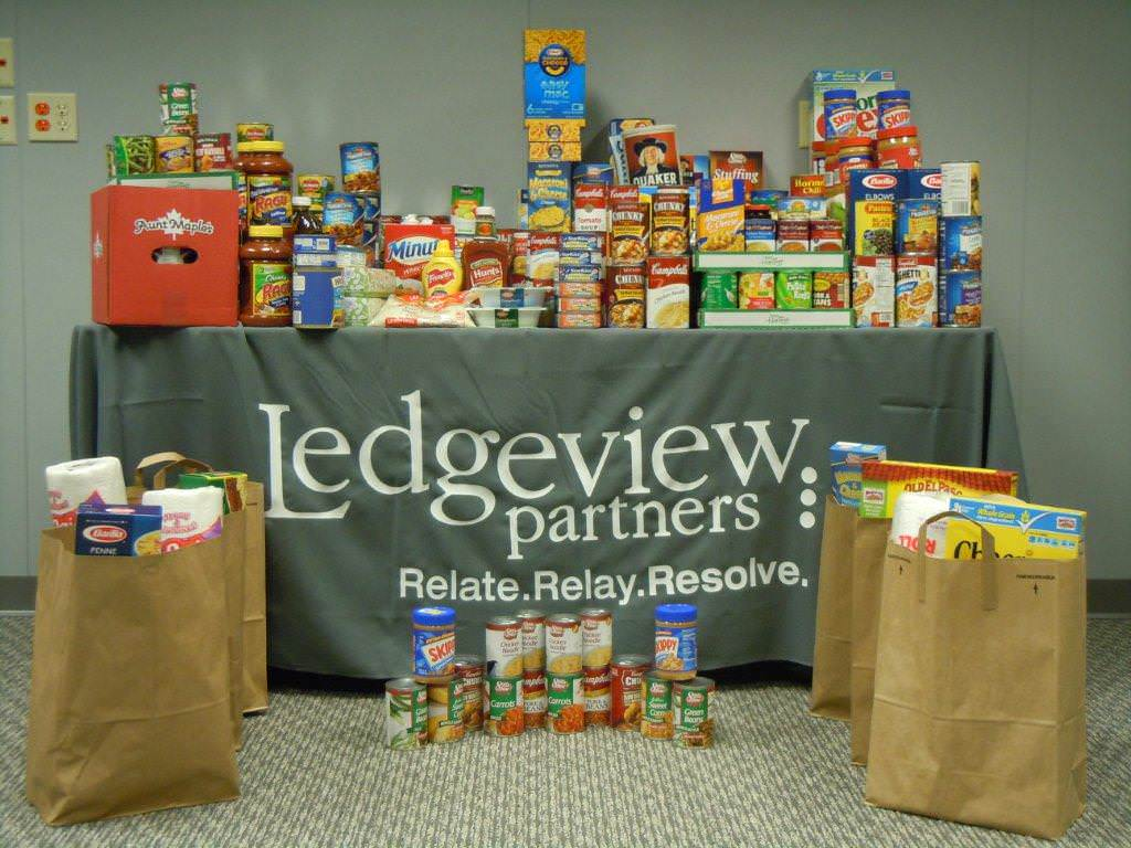 Ledgeview Food Drive