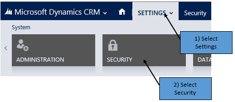 Adding Security Roles to a Form in Dynamics CRM - Ledgeview Partners