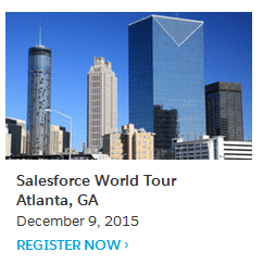 Salesforce Atlanta World Tour