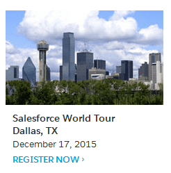 Salesforce Dallas World Tour