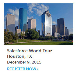 Salesforce Houston World Tour