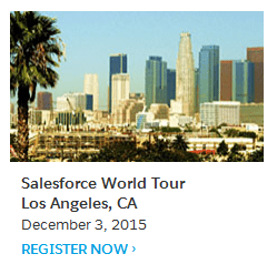 Salesforce Los Angeles World Tour