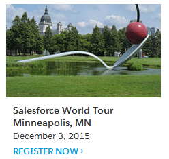 Salesforce Minneapolis World Tour
