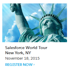 Salesforce New York City World Tour