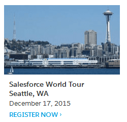 Salesforce Seattle World Tour