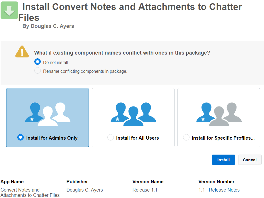 How to Convert Attachments in Salesforce to Chatter Files