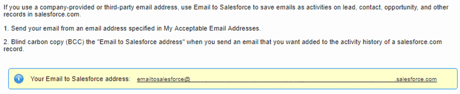 Email to Salesforce - Ledgeview Partners