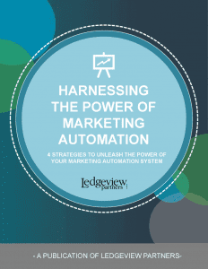 Harnessing the Power of Marketing Automation
