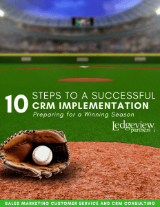 How to Select the Right CRM Partner