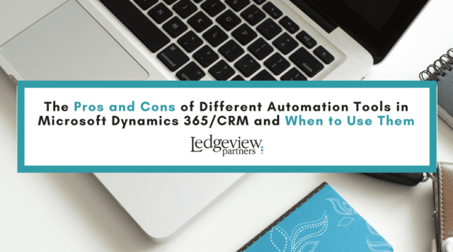 Dynamics CRM/365 Tips from Ledgeview Partners