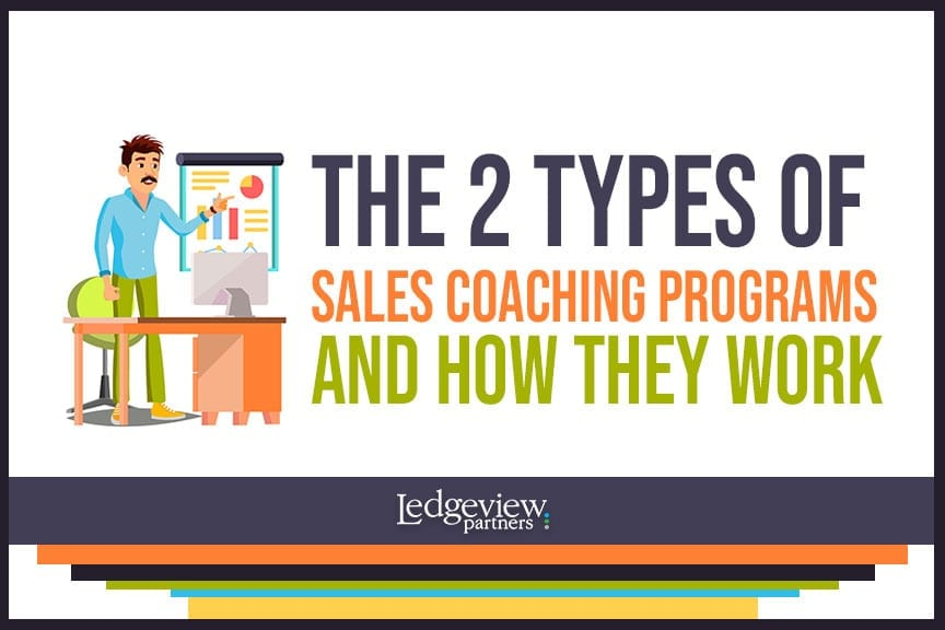 The 2 Types of Sales Coaching Programs and How they Work