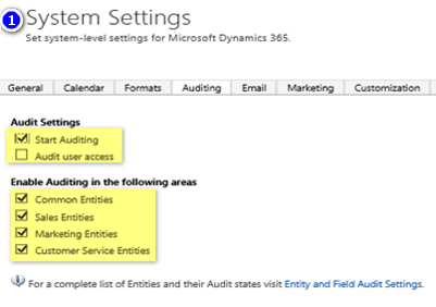 Microsoft Dynamics 365/CRM Tips