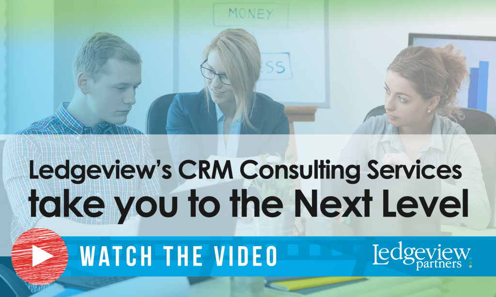 Ledgeview's CRM Consulting Services take you to the next level